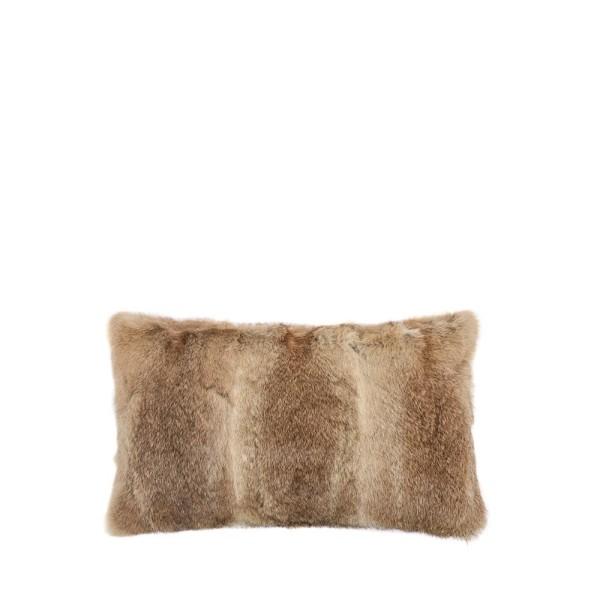 Arctic Rabbit Cushion  Full Skin Natural