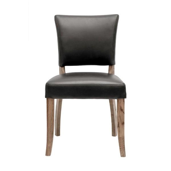 Crane Dining Chair Leather - Black