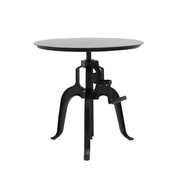 Bank Bar Table  Iron Top