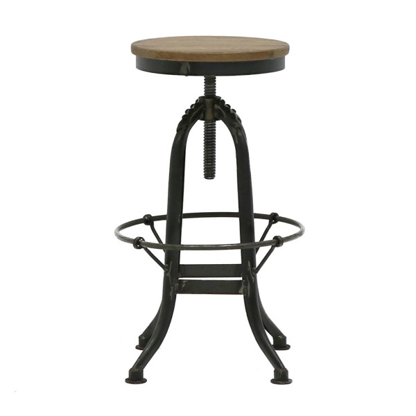 Clement Polished Stool