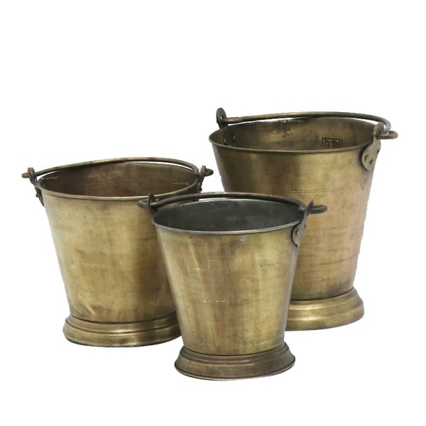 Original Brass Ice Bucket - Assorted