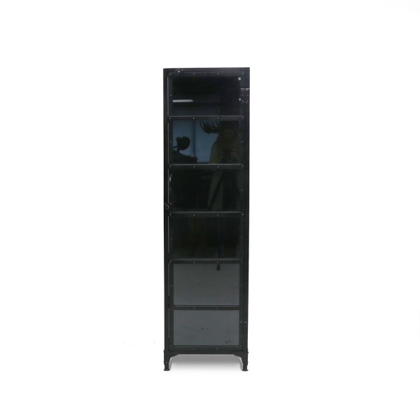 Bank Glass Display Cabinet - Tall