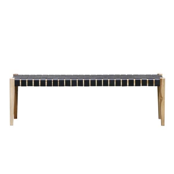 Hayes Bench 150cm Black