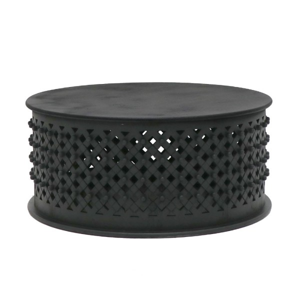 Bamileke Coffee Table - Aged Black