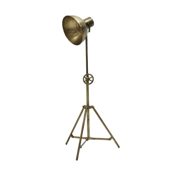 Chandri Metal Lamp - Brass