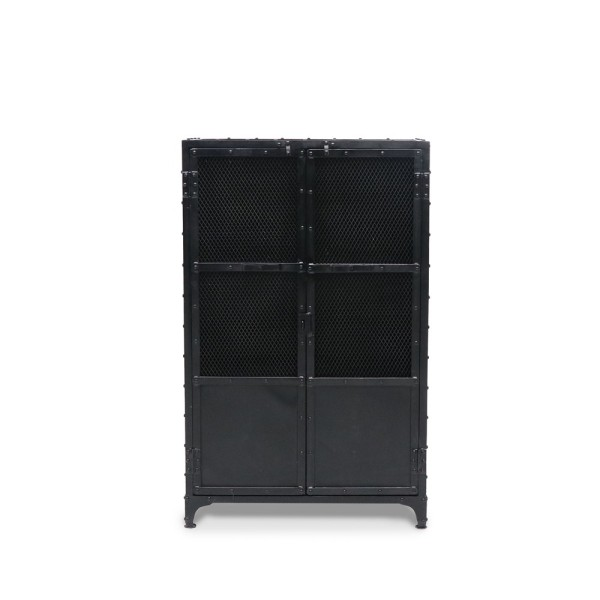 Bank Storage Locker - Mesh Doors