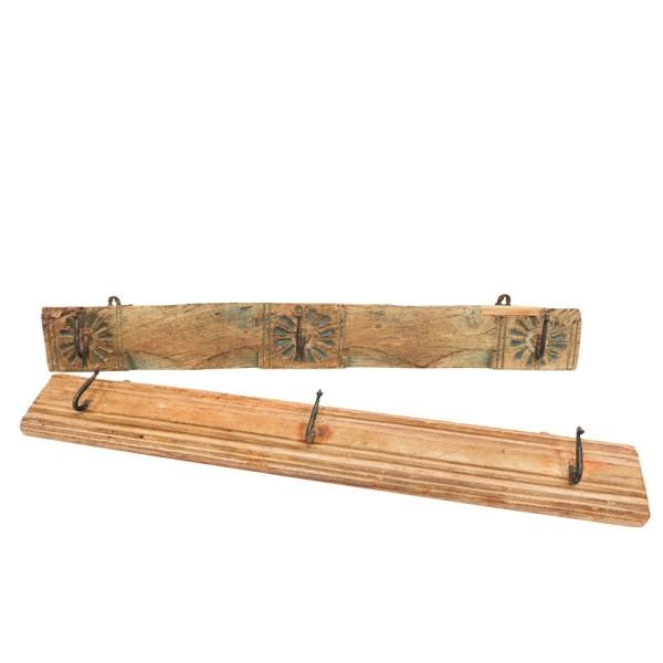 Original Wooden 3 Hook Board