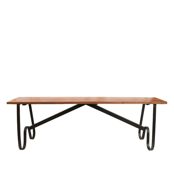 Original Wood and Iron Bench