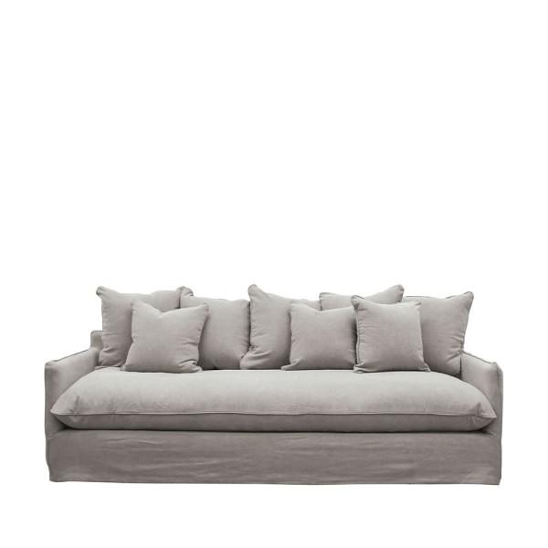 Lotus Slipcover Sofa - Cement
