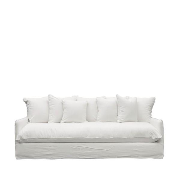 Lotus Slipcover Sofa - White