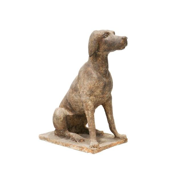 Small Dog Statue