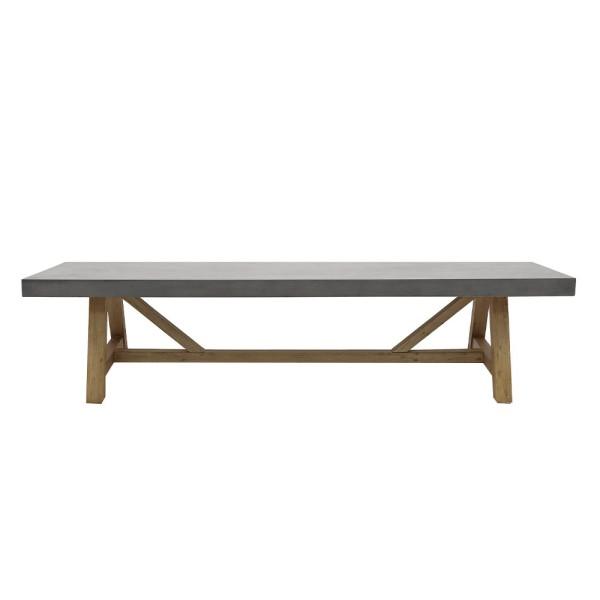 Alorac Concrete Bench 200cm