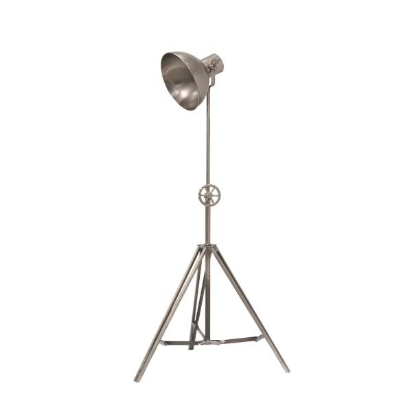 Chandri Metal Lamp - Nickel