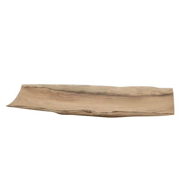 Crusoe Salvaged Teak Tray - Large