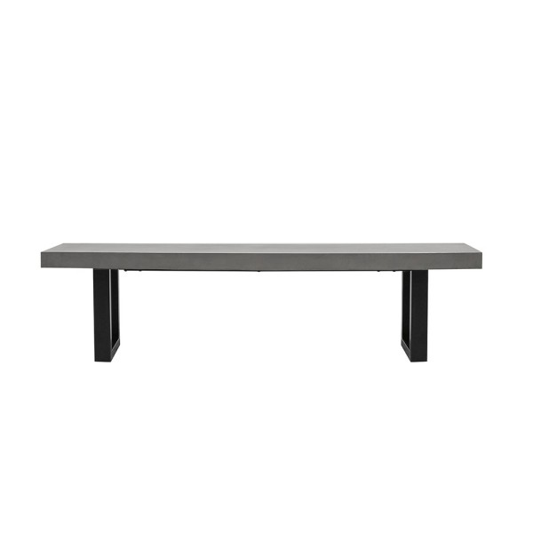 Nero Concrete Bench - 180cm