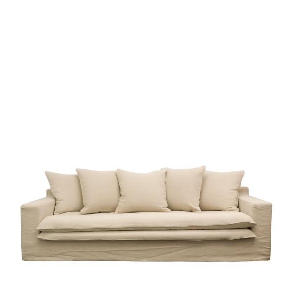 Keely Slipcover Sofa - Oatmeal