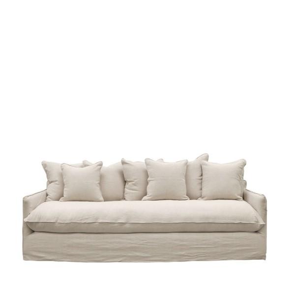 Lotus Slipcover Sofa - Oatmeal