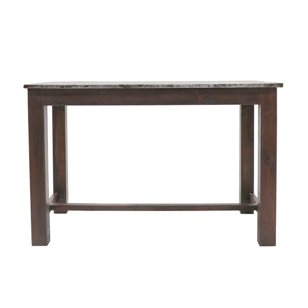 Liverpool Zinc Top Bar Table