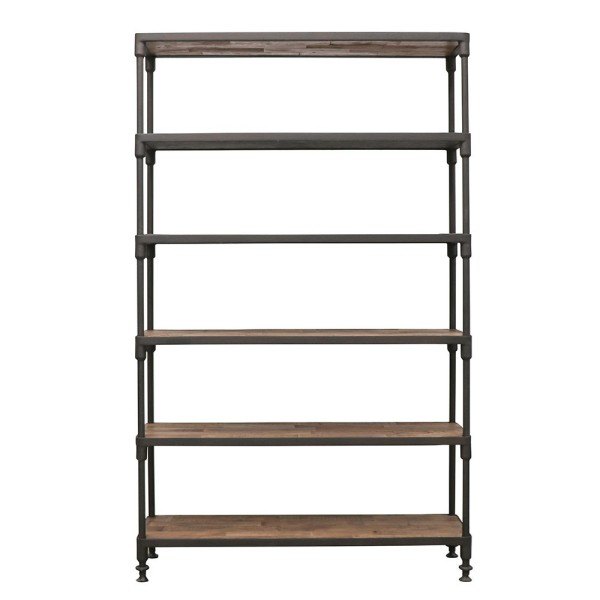 Industrial Metal Bookshelf - Medium