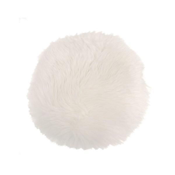 Sheepskin Seat Pads - Ivory