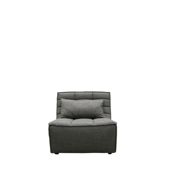 Soho Single Seat Modular Sofa - Dark Grey