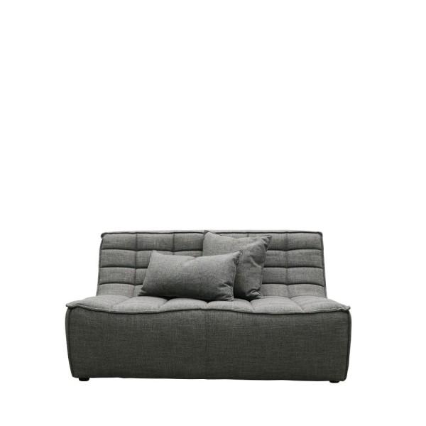 Soho 2 Seater Modular - Dark Grey