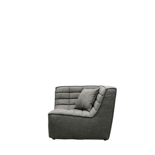 Soho Modular Corner Seat- Dark Grey