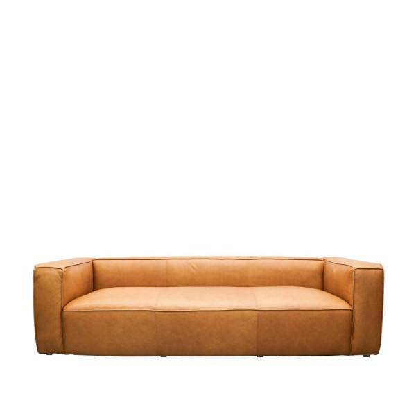 Stirling 3 Seater Sofa - Chestnut