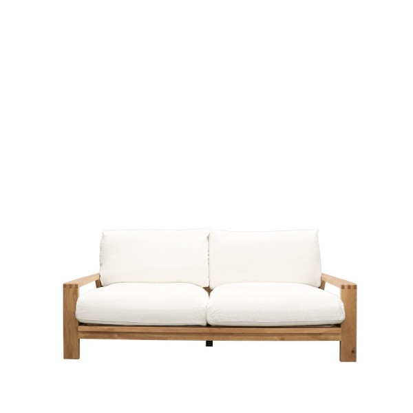 Cassel 3 Seater Sofa - White