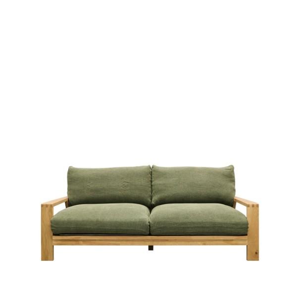 Cassel Sofa 3 Seater - Khaki