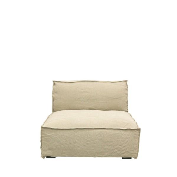 Maddox Modular Sofa 1 Seater - Natural