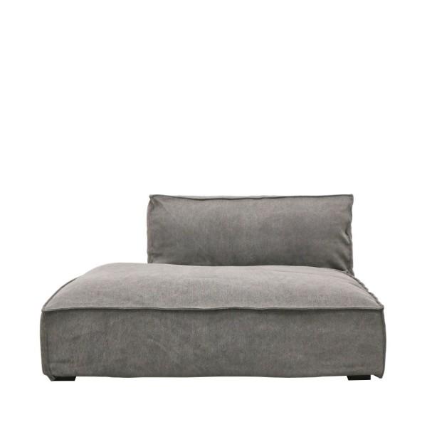 Maddox Sectional Sofa R/H Armless - Charcoal