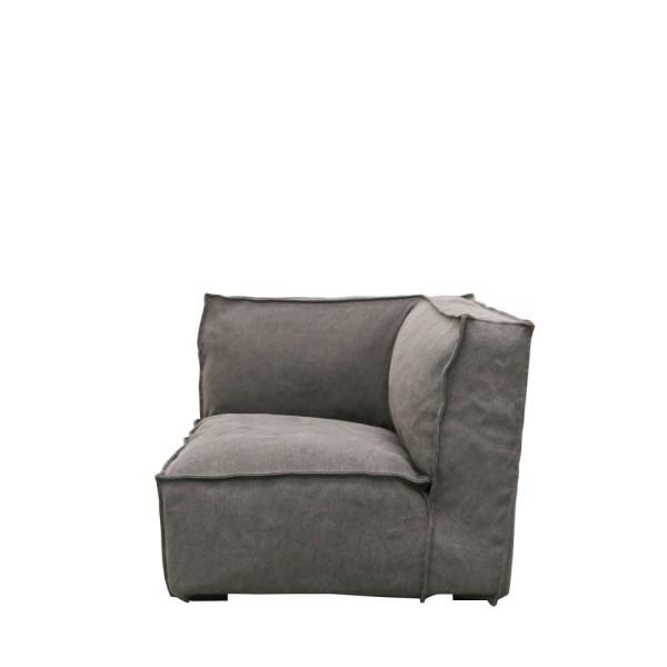 Maddox Modular Corner Sofa - Charcoal