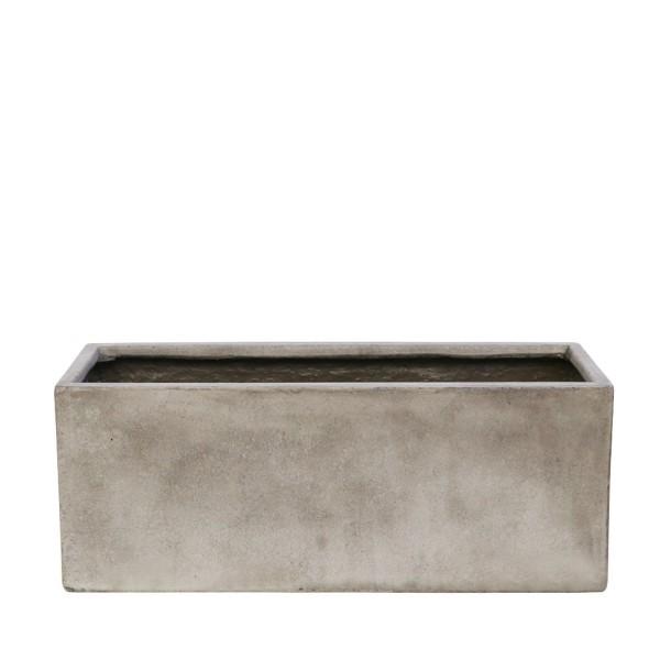 Waihou Weathered Cement Planter - Medium