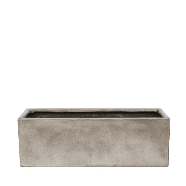 Waihou Weathered Cement Planter - Small