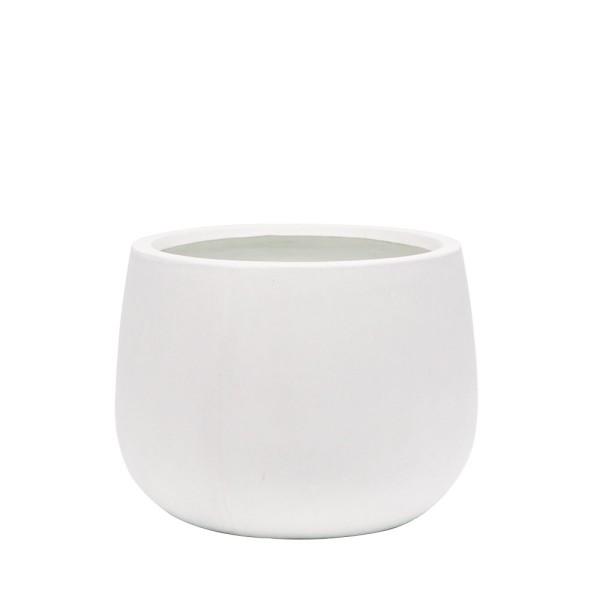 Ahuriri White Planter - Medium