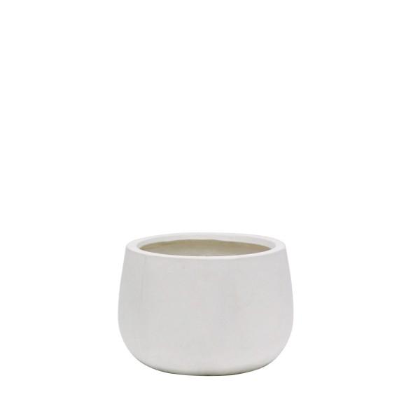Ahuriri White Planter - Small