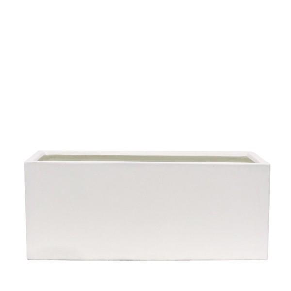 Waihou White Planter - Medium