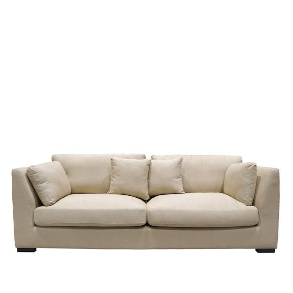Manhattan 3 Seater Sofa - Cream