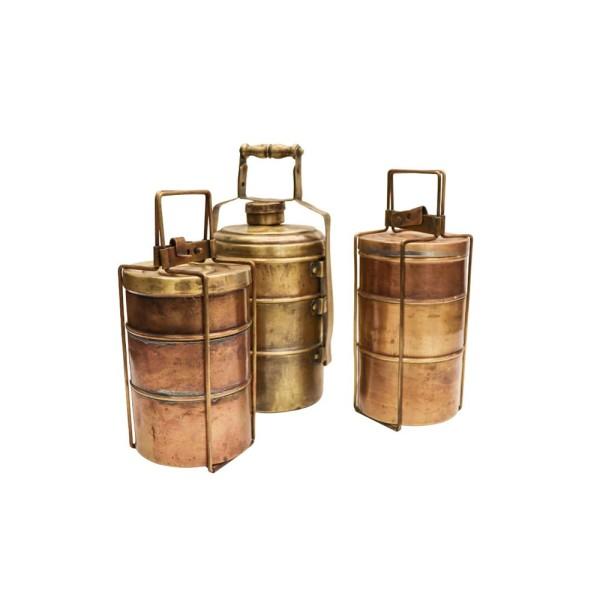 Original Brass Tiffin - Triple