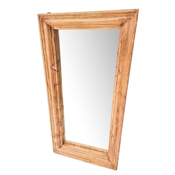 Original Light Wooden Mirror