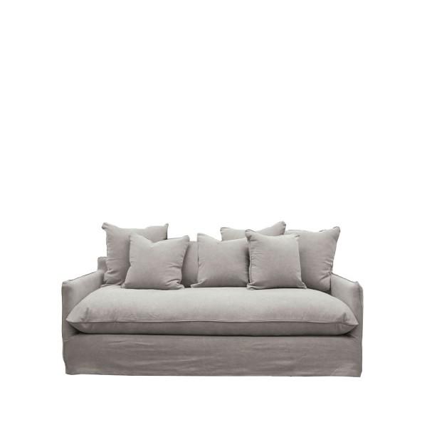 Lotus Slipcover Sofa 2 seater - Cement