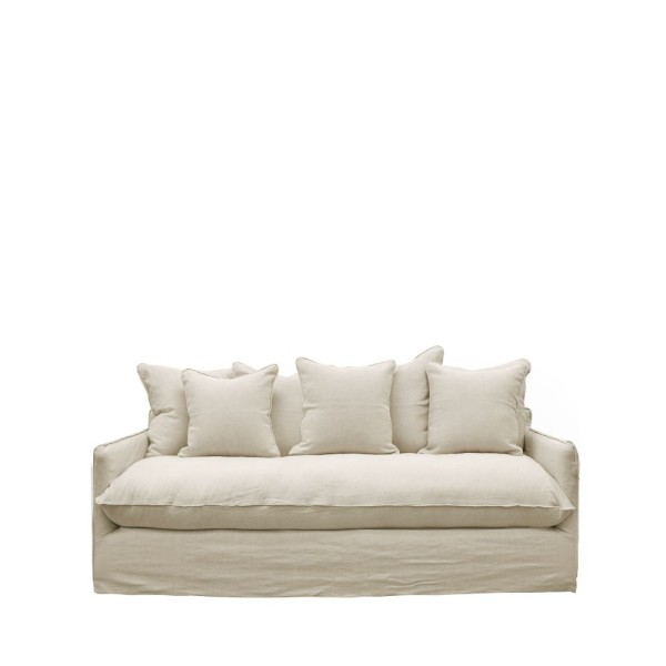 Lotus Slipcover Sofa 2 seater - Oatmeal