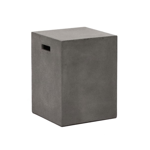 Concrete Rectangle Side Table / Stool - 46cm
