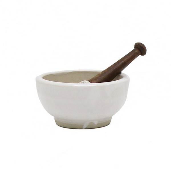Original Ceramic Mortar & Pestle  Small