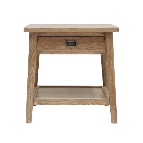 Vaasa Bedside Table 1 Drawer