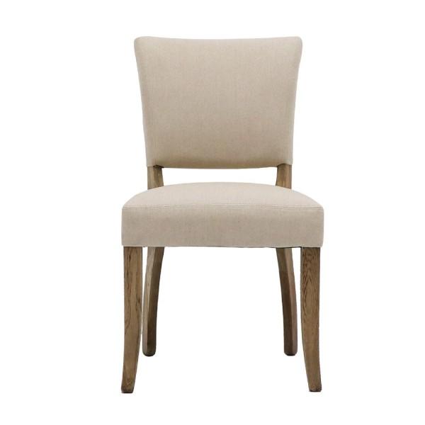 Crane Dining Chair Linen - Cream