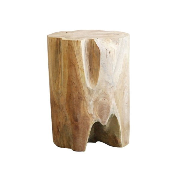 Crusoe Root Side Table / Stool - Round, 40cm